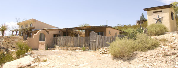 Exterior of the Candelilla House.