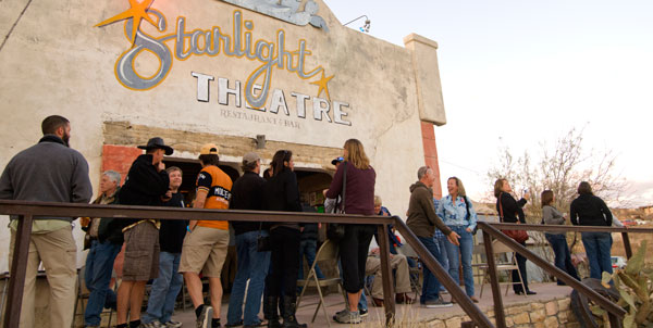 The Starlight Theatre always draws a crowd.