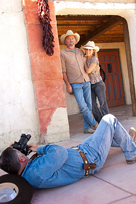Photo session at the Terlingua Trading Company